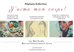 Méthode Merveilleusement biend e Stéphanie Guiberteau pour accepter son corps et vivre sa vie pleine de sens