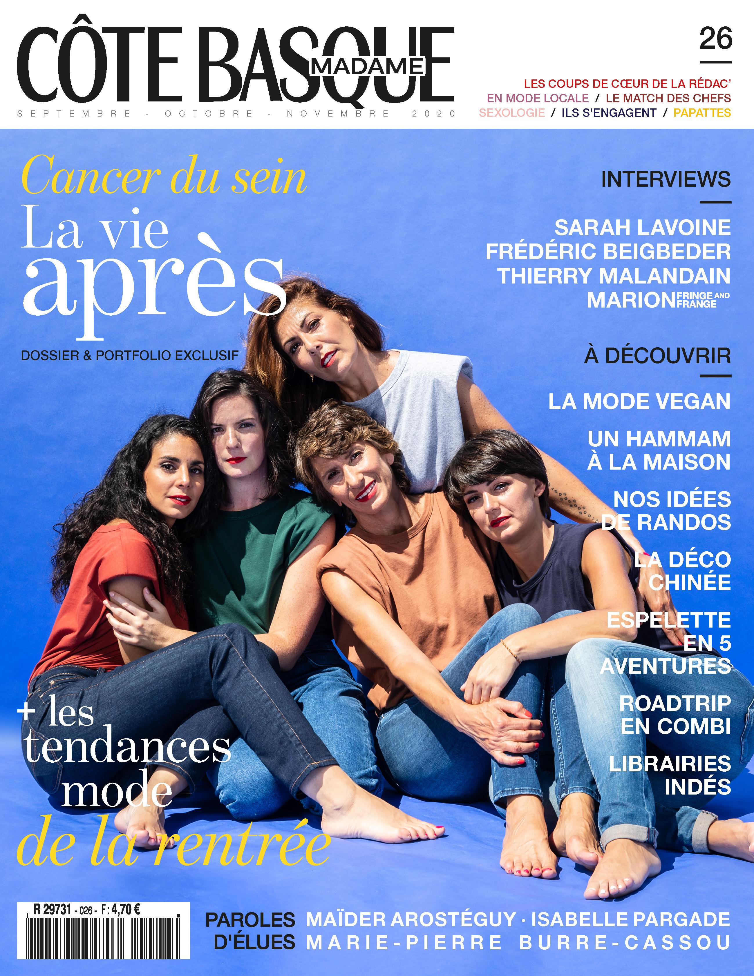 Articles parus dans Côte Basque Madame